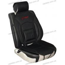 Накидка на сиденье дерматин+сетка черная CN 12527 B Vitol