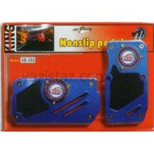 Накладки на педали автомат XB-350 BL/RD