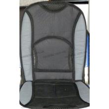 Накидка на сиденье черно-серая F-14059 В комбинир. кожа