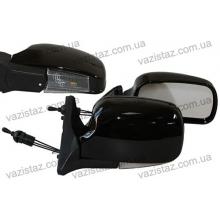 Зеркала боковые/ ВАЗ 04,05,07/ черные, атиблик с поворотом (2 шт.) YH-3107 А Black