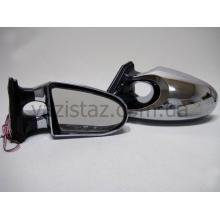 Зеркала боковые универсальные с поворотом и габаритом (2 шт.) 3288 L Chrome