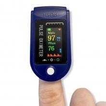 Пульсометр оксиметр на палец (пульсоксиметр) LYG-88, измерение кислорода в крови - сатурация