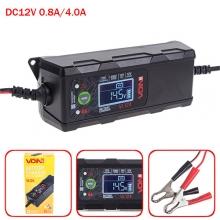 Зарядное устр-во VOIN VL-124 12V/4A/3-120AHR/LCD/Импульсное (VL-124)