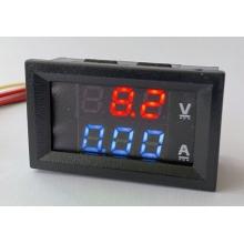 Встраиваемый цифровой Вольтметр - Амперметр 100В, 10А