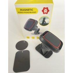 Держатель автомобильный, магнитный холдер Magnetic H-CT219, автодержатель для телефона на скотче Черный