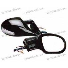 Зеркала боковые универсальные черные с поворотом (2 шт.) YH-3266 Black