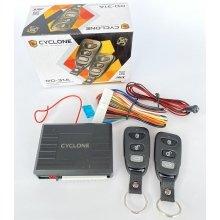 Дистанционный модуль центрального замка с пультами Cyclone RD-31A выход на сирену/багажник/повороты/программируемый импульс