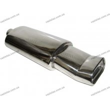 Прямоточный глушитель НГ-0716 d-60mm нержавейка