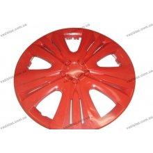 Колпаки R13 Lux красные (4 шт.)