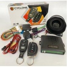 Односторонняя сигнализация на автомобиль Cyclone X6 LC автосигнализация С СИРЕНОЙ