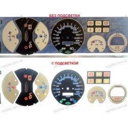 Вставки в панель приборов ВАЗ 2105