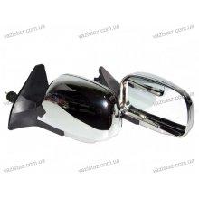 Зеркала боковые/ ВАЗ 08, 09,13-15/ сферические с регулировкой и поворотом (2 шт.) ЗБ-3109П Chrome