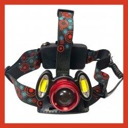 Налобный фонарь Bailong   Police BL 2117 T6   2COB - 50000W /2 аккум./ ЗУ 220-12В