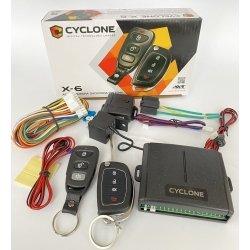 Односторонняя сигнализация на автомобиль Cyclone X6 LC автосигнализация БЕЗ СИРЕНЫ