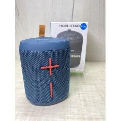Портативная беспроводная Bluetooth колонка Hopestar P14 5W, 1500mAh, радио, синяя