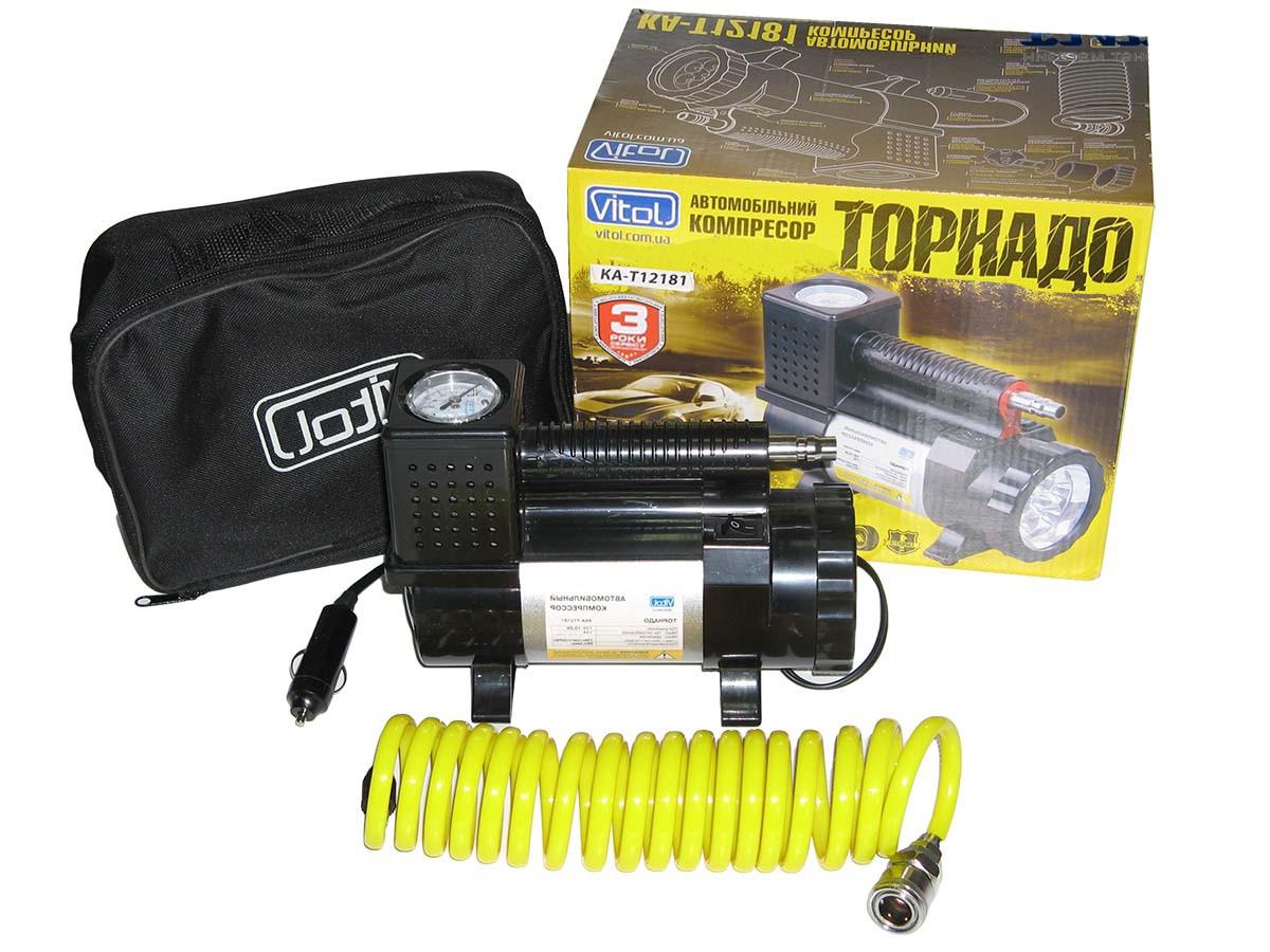 Автомобильный компрессор Торнадо КА-Т12181 Vitol