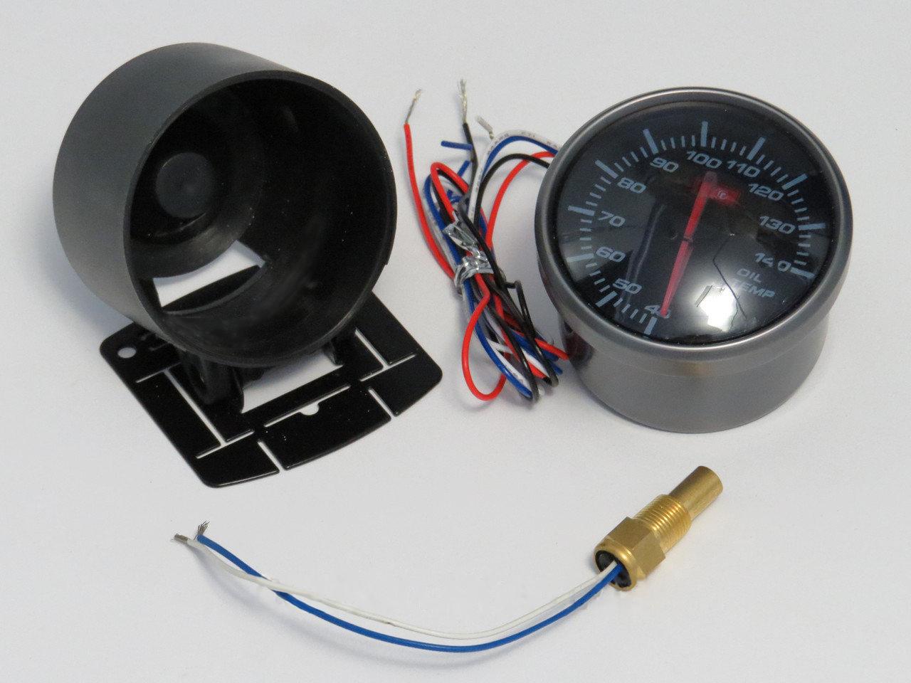 Фото электронного указателя температуры масла с датчиком 602703