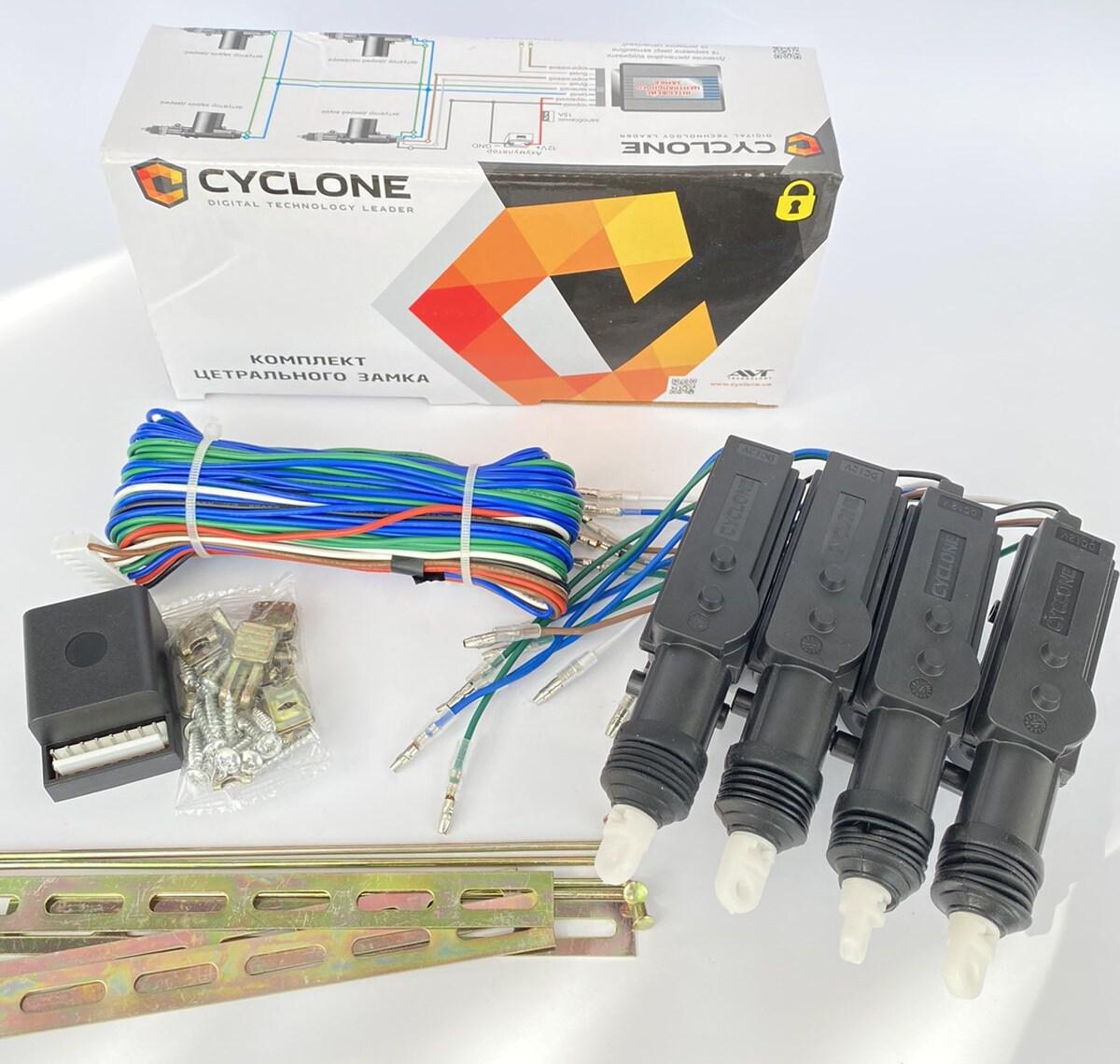 Cyclone DLS-222 - комплект центальных замков на авто