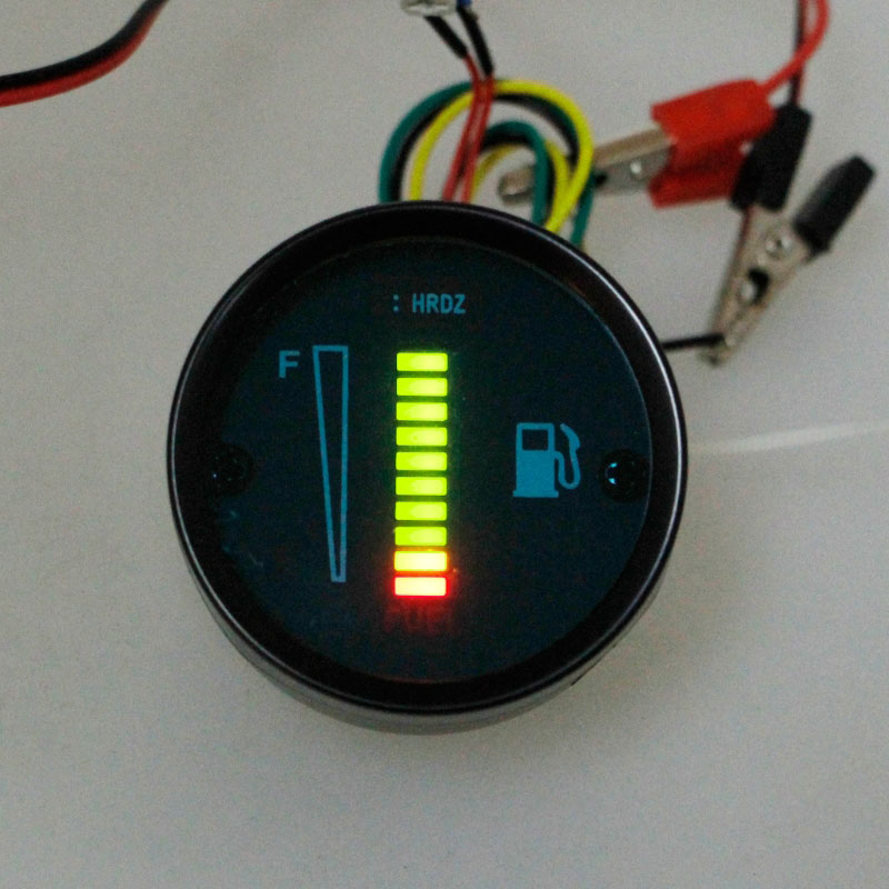 Фото дисплея Электронного указателя (индикатора) уровня топлива универсальный