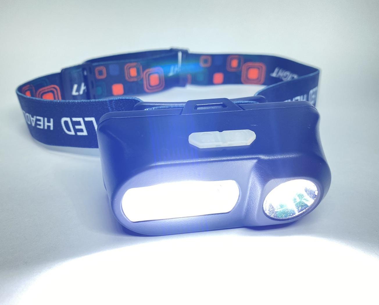 Маленький налобний ліхтар з акумулятором і USB зарядкою BL-1804A