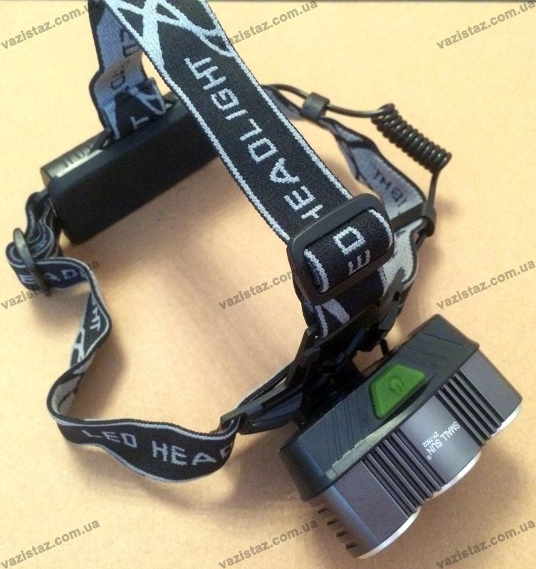 купить налобный фонарь на аккумуляторе в Украине Small Sun ZY-7502-3T6 USB