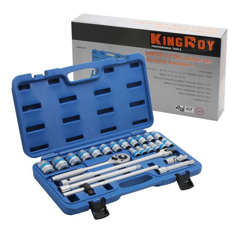 Купить набор головок с трещоткой для автомобиля ART-024MDA KingROY