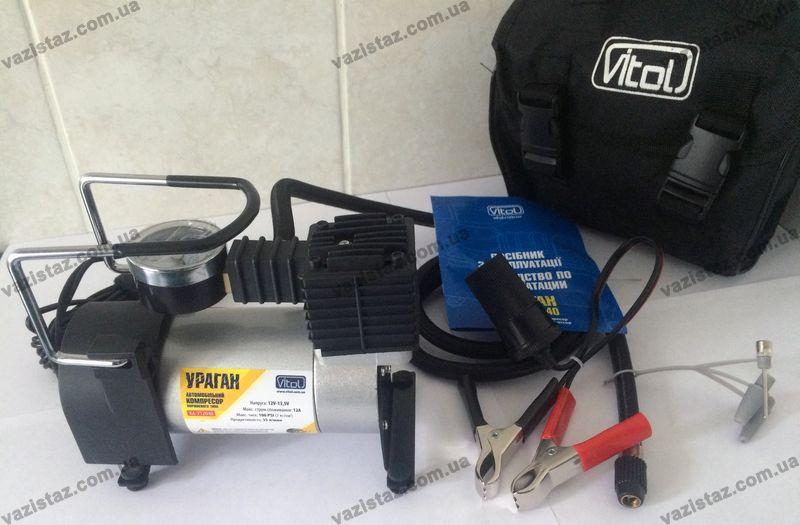 Автомобильный компрессор Ураган КА-У12040 Vitol - купить