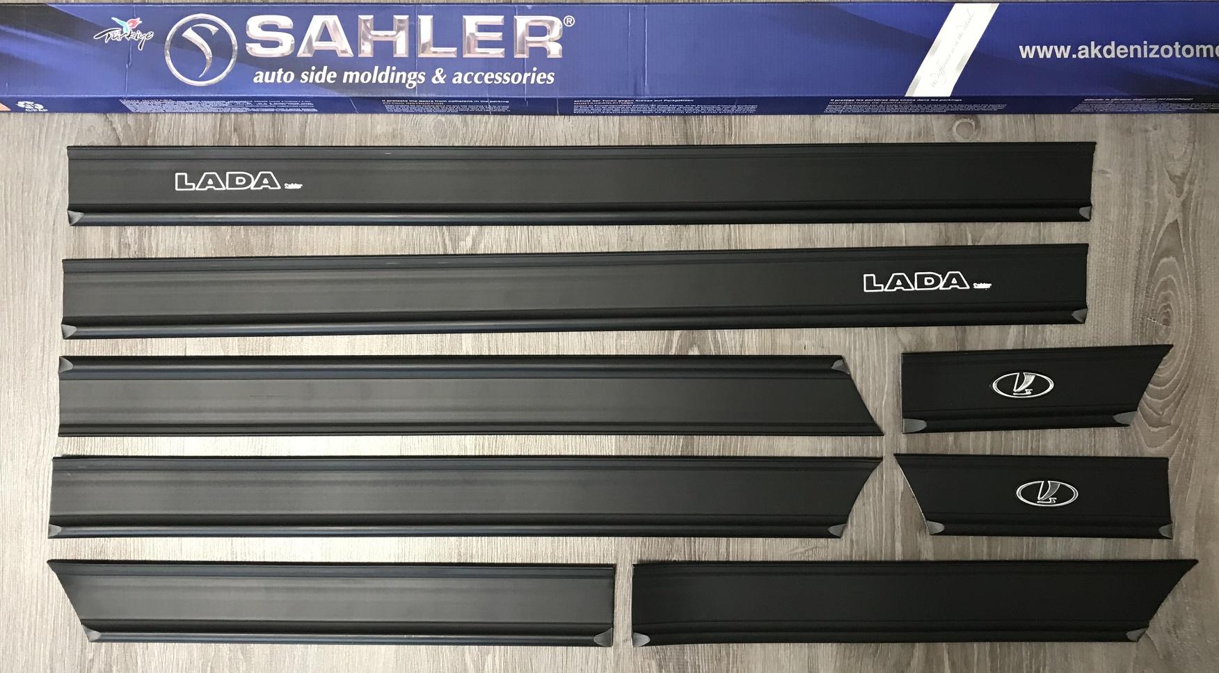 молдинги на ВАЗ 2106, 2107, 2101 SAHLER - купить накладки на двери LADA