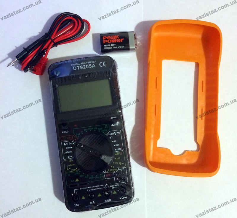 Купить мультиметр DT9205A в Украине