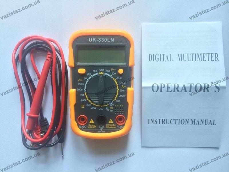 мультиметр uk-830ln купить в Украине