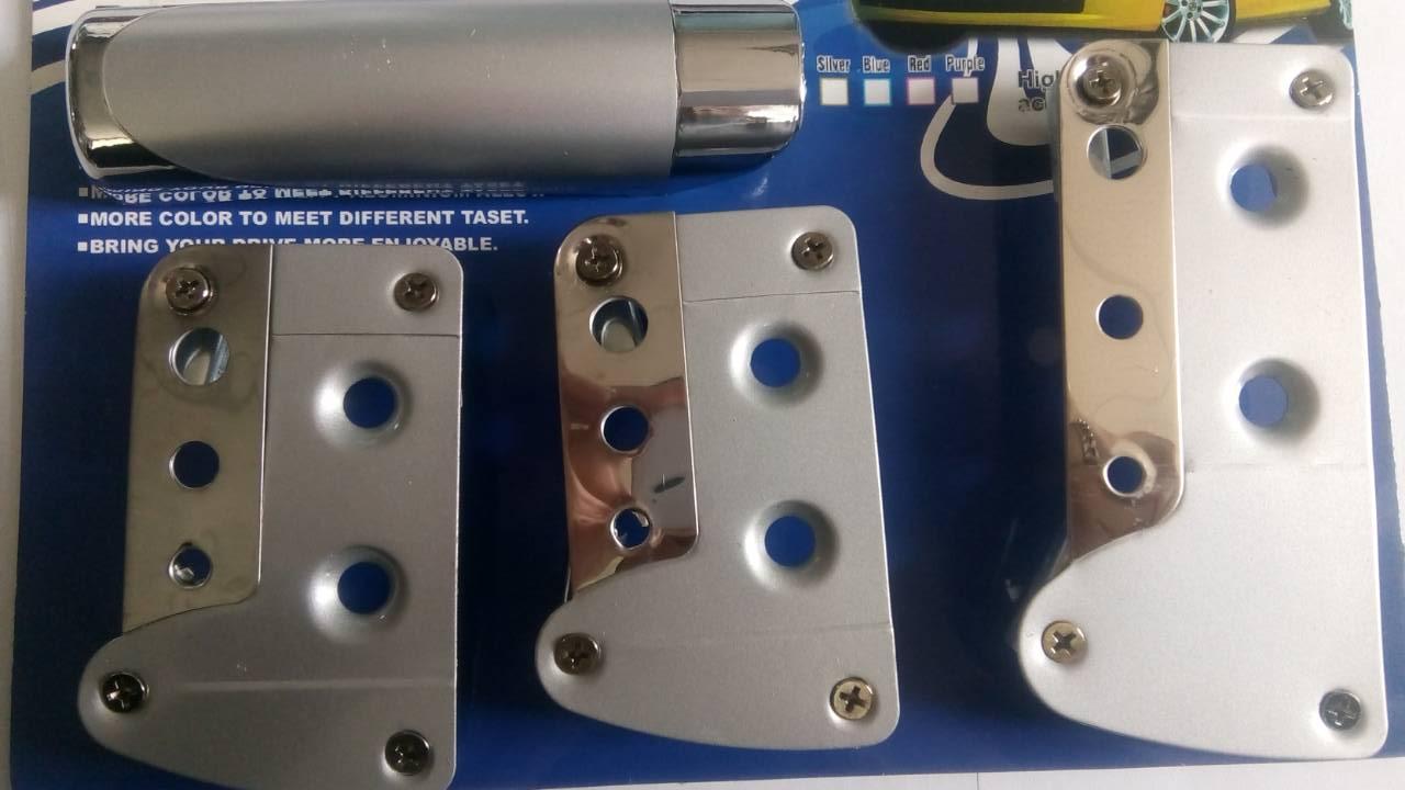 Купить накладки на педали + накладка на ручник в Украине KP-43