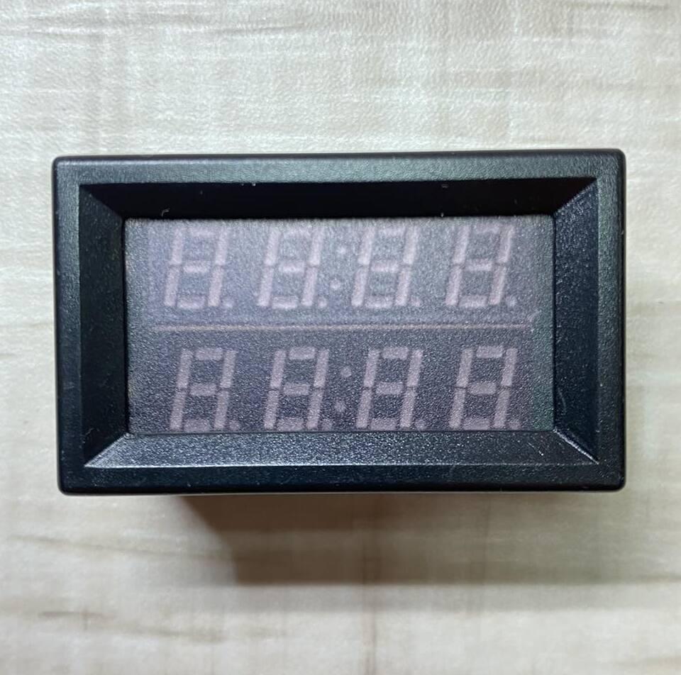 Фото цифрового датчика температуры универсальный термометр DC 4,0V- 28V врезной